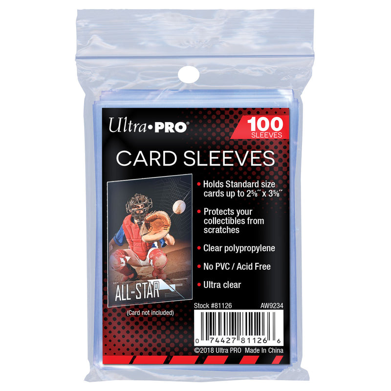 Ultra Pro Soft Card Sleeves - Standard (100-Pack)
