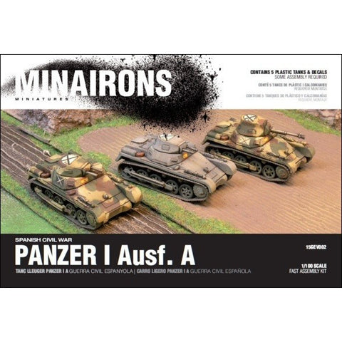 1/100 PANZER I A - BOXED SET