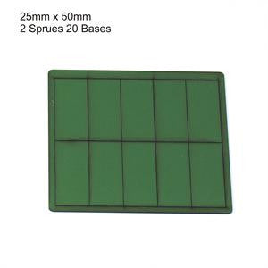 25 x 50 Green Bases
