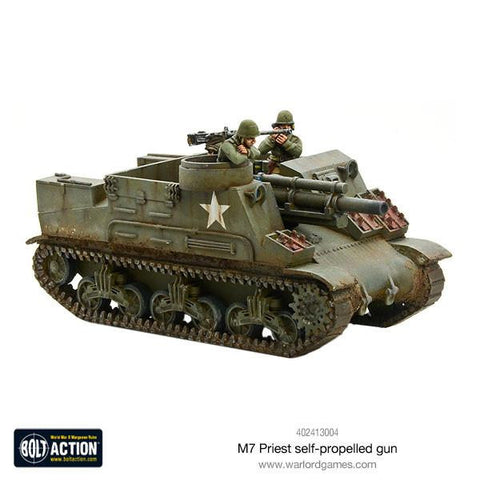 M7 Priest self-propelled gun