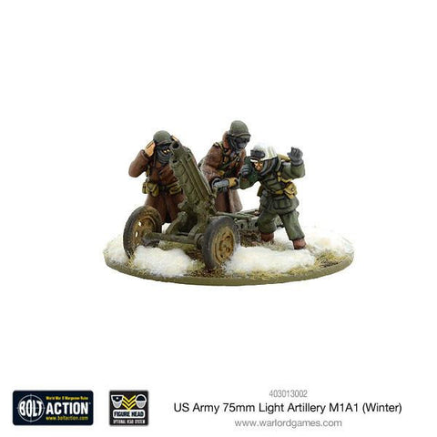 US Army 75mm Light Artillery M1A1 (Winter)