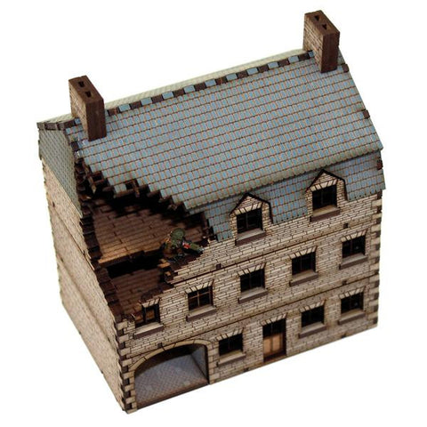15mm Pre-painted Damaged Stone Hotel