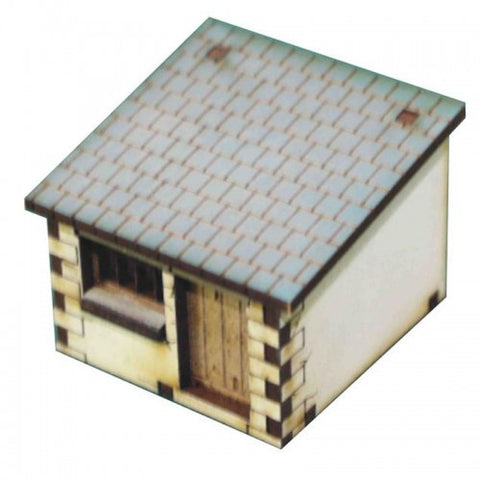 15mm Dairy/ Lean To 4 (White)