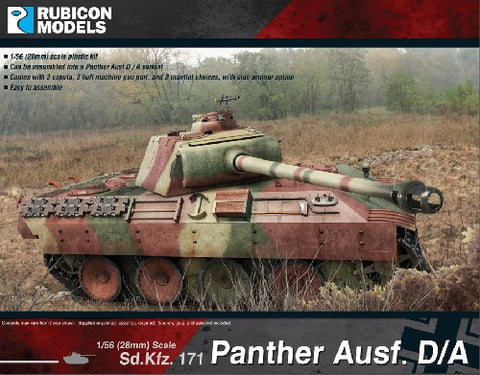 Panther Ausf D and A.