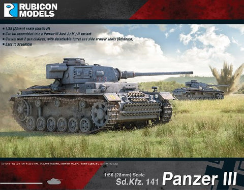 Panzer III. Mid War design (J, M or N variants).