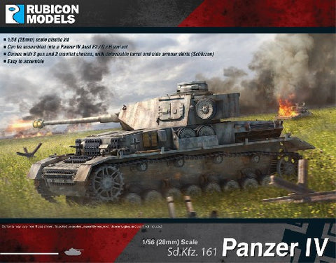 Panzer IV. mid and late war (F2, G or H variants)