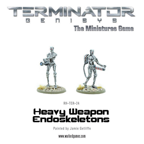 Heavy Weapons Endoskeletons