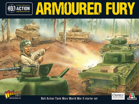 Armoured Fury - Bolt Action Tank War starter set