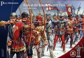 Wars of the Roses Infantry 1450-1500