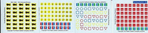 1/72nd (20mm) Decal Sets: 11th Armoured Division