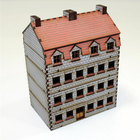 15mm Pre-painted Bank/Apartments