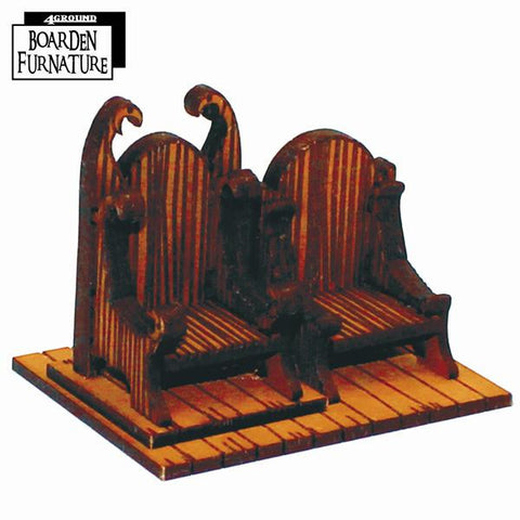 Boarden Royal Throne X 1 (Light Wood)