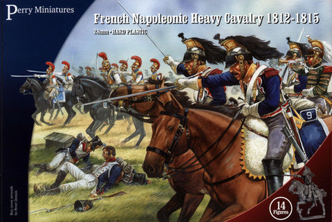 French Napoleonic Heavy Cavalry 1812-1815