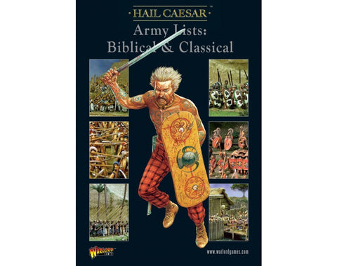 Hail Caesar Army Lists: Biblical and Classical