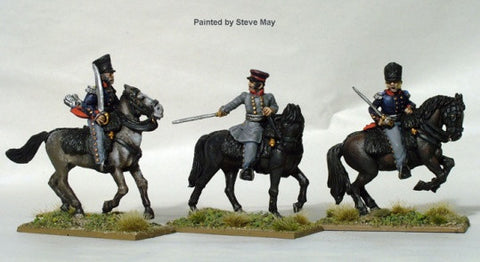 Mounted Prussian Field Officers