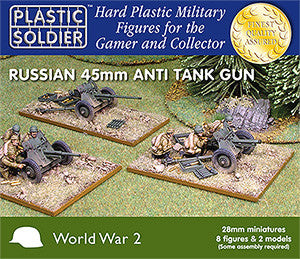 28mm Russian 45mm Anti Tank Gun
