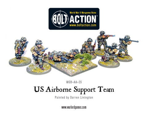 US Airborne Support Teams