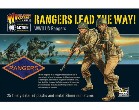 Rangers Lead the Way! WW2 US Army Rangers
