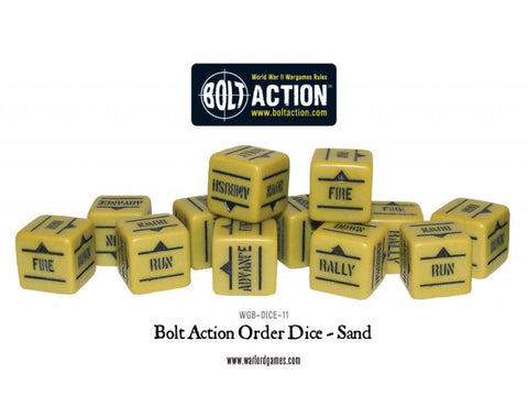 Bolt Action Dice- Sand