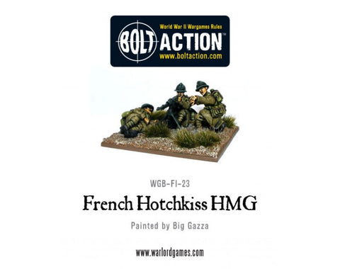 French Army Hotchkiss MMG Team