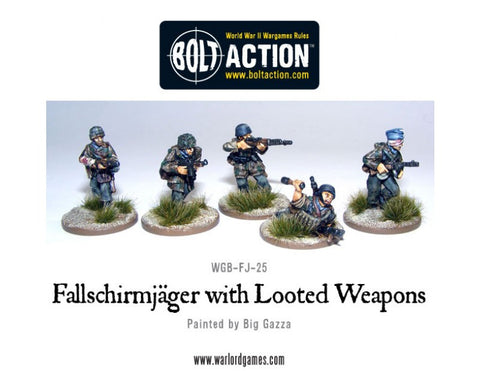 Fallschirmjagers with Looted Weapons