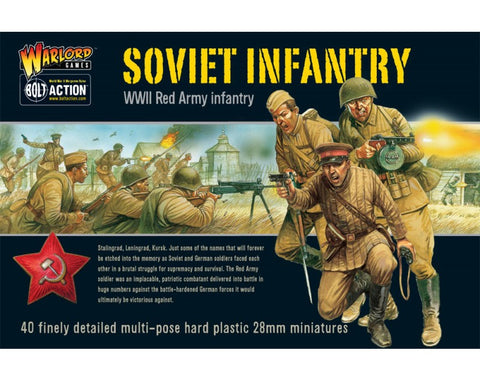 Soviet Infantry plastic box set