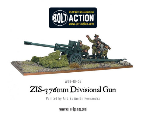 Soviet Zis 3 76mm Field Gun