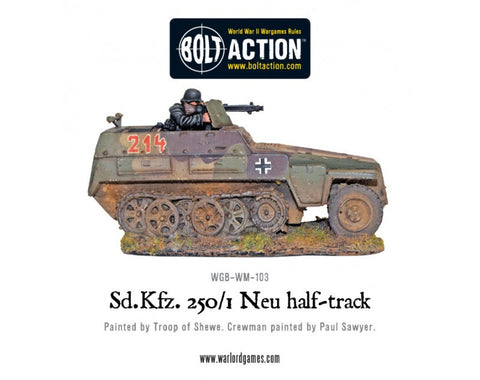 German Sd.Kfz 250/1 Neu Halftrack