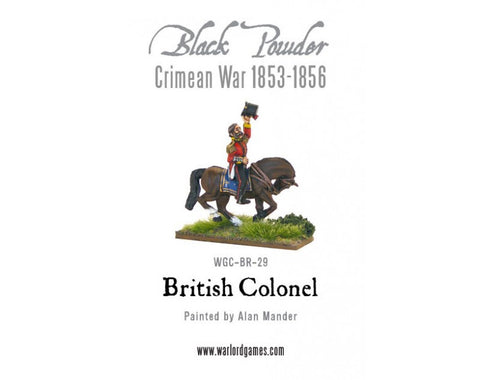 Mounted British Officer