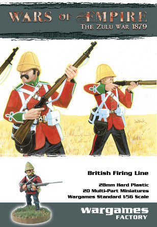 28mm Zulu War British Firing Line