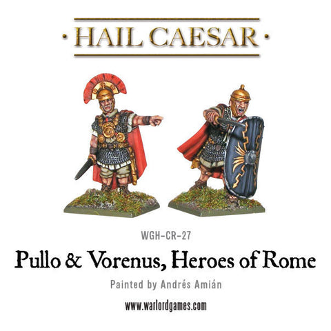 Pullo and Verenus, Heroes of Rome
