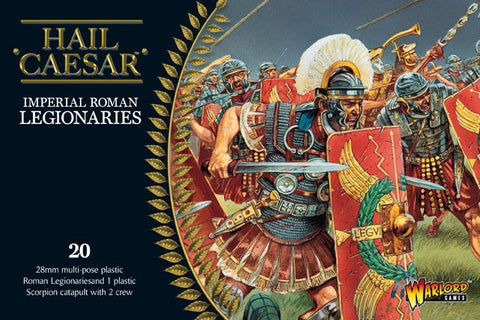 Imperial Roman Legionaries and Scorpion Warmachine Set