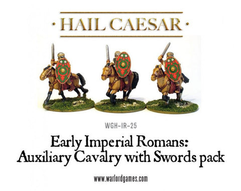 Roman Auxiliary Cavalry with swords
