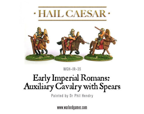 Roman Auxiliary Cavalry with spears