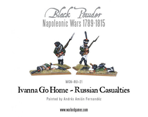 Napoleonic Russian Casualty Pack