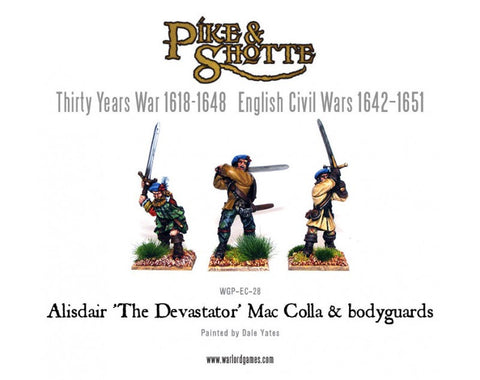 Alisdair 'The Devastator' Mac Colla & bodyguards