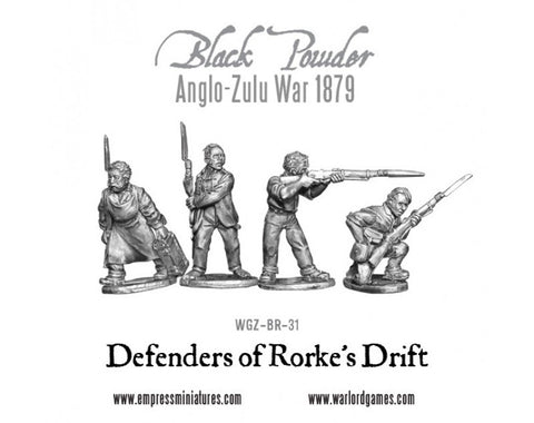 Anglo-Zulu War Defenders of Rorke's Drift