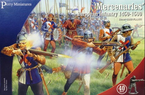 'Mercenaries', European Infantry 1450-1500