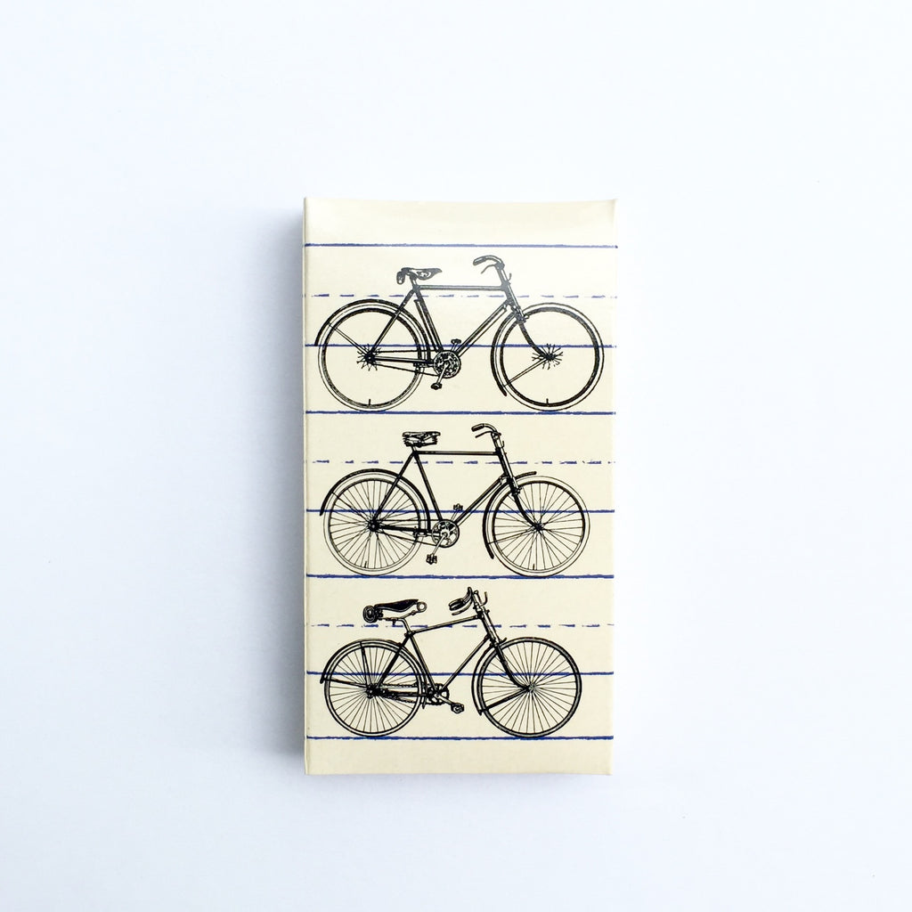 These Bicycle jumbo matches are perfect for lighting our hand poured soy candles!  These decorative matches are a lovely addition to enhance any home décor.  Our designer match boxes are reusable, and each comes with 50 matches tipped in black.