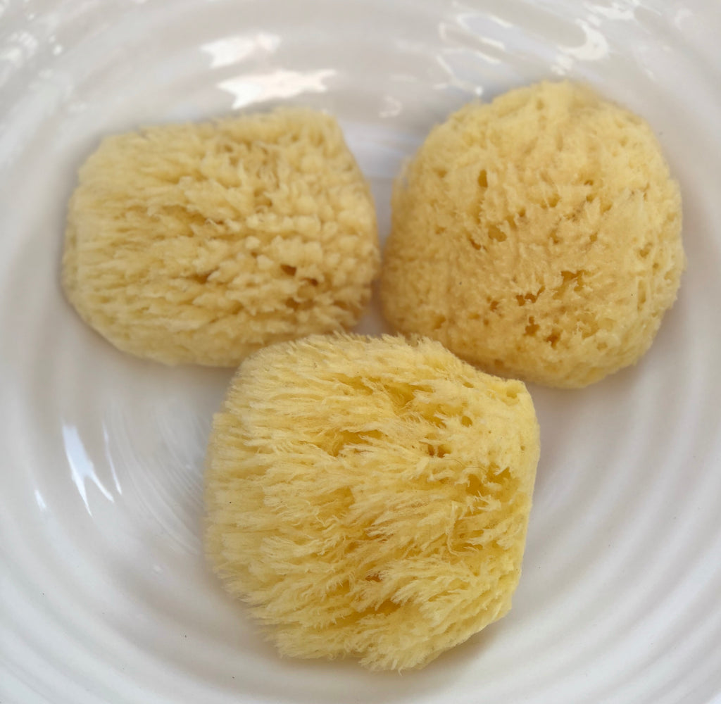 Our Dead Sea Bath Sponges have a gentle, soft texture and can be used for both facial and body applications in the bath or shower.