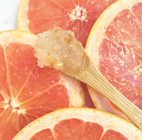 Grapefruit Dead Sea Salt Scrub