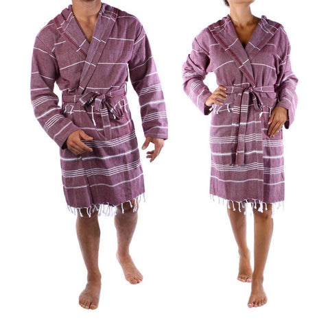 Bordeaux Bathrobe