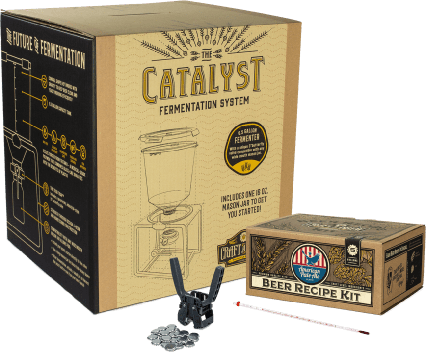The 5 Gallon Starter Kit - Craft a Brew