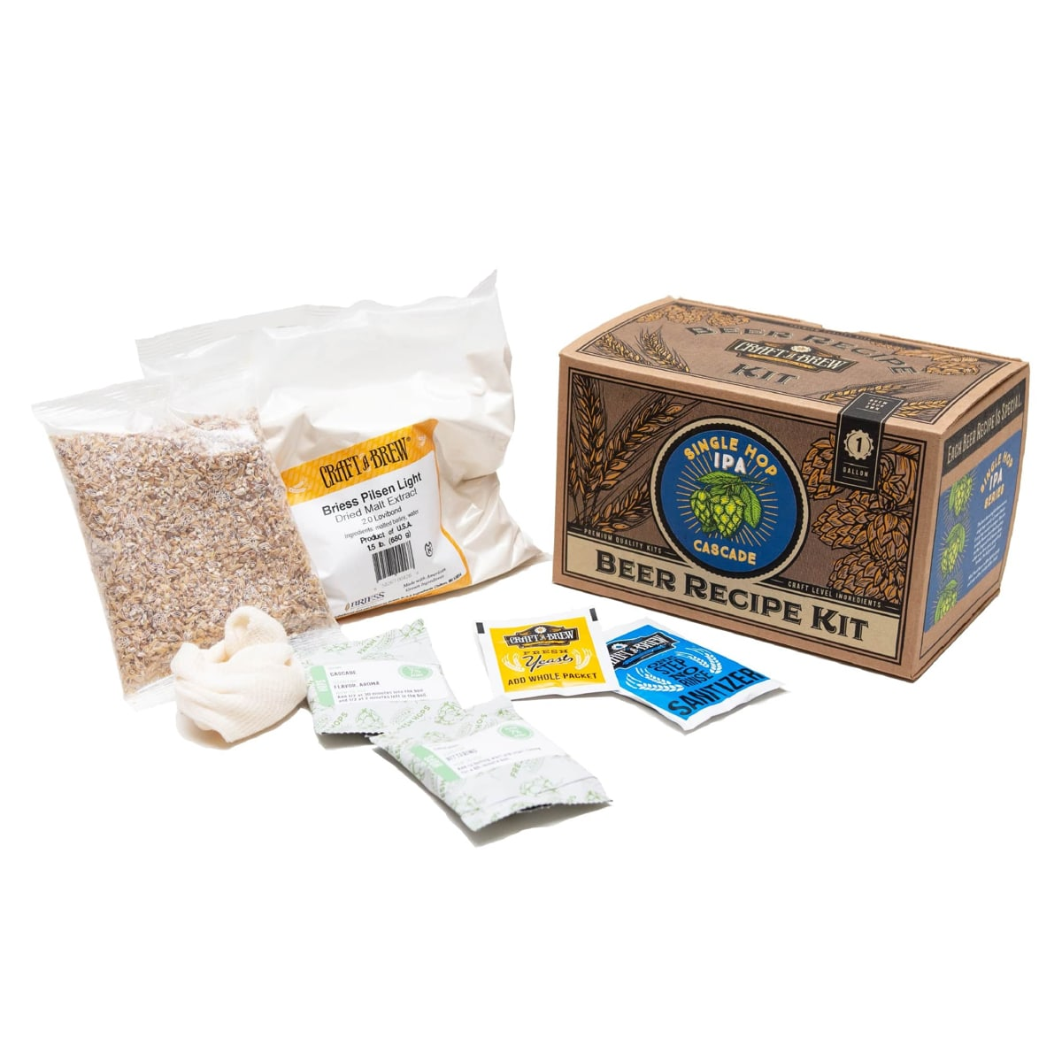 Beer Recipe Kit Options - Craft a Brew