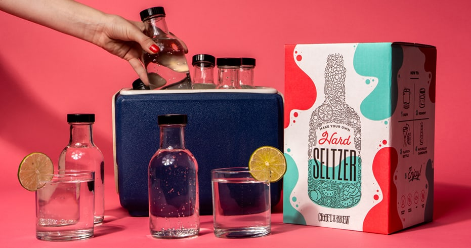 Craft a Brew - Hard Seltzer Kit Ready to Drink Mobile