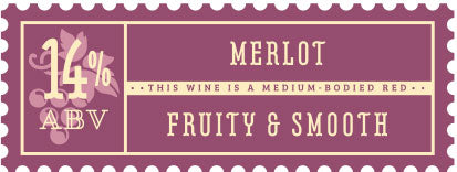 Craft a Brew - Merlot Wine Kit Stamp