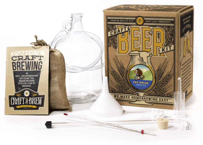 Beer making kit home beer brewing kits craft a brew for Craft beer brewing kit
