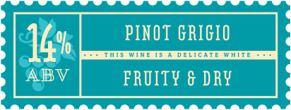 Craft a Brew - Pinot Grigio Wine Kit Stamp