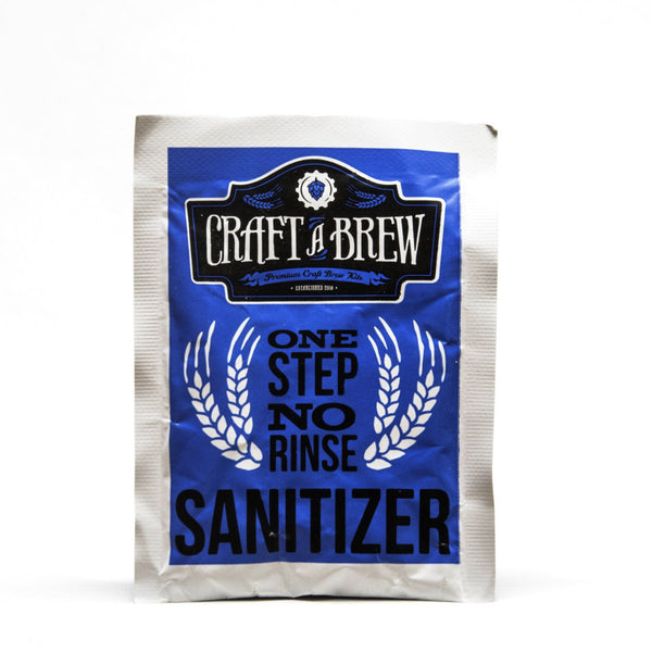 Sanitizer pack one step for Craft a brew catalyst