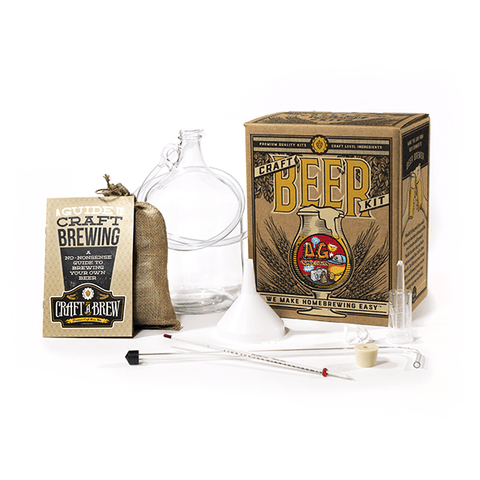 O.G. Orange Golden Ale Home Beer Brewing Kit